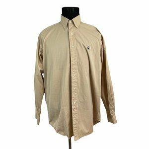 Ralph Lauren   Blake Button Front Shirt L